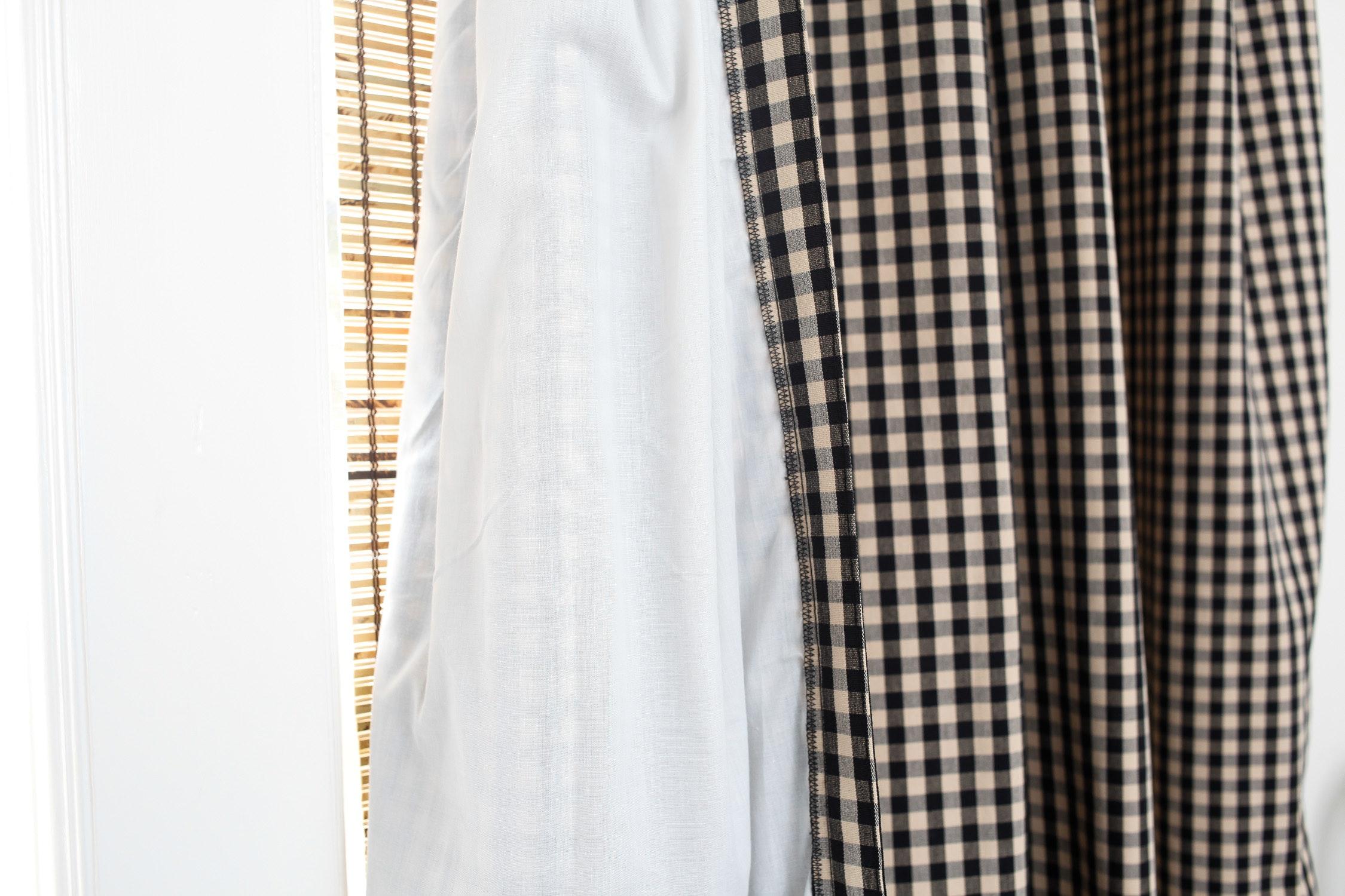Four Panels Of Ballard Designs Curtains Ebth