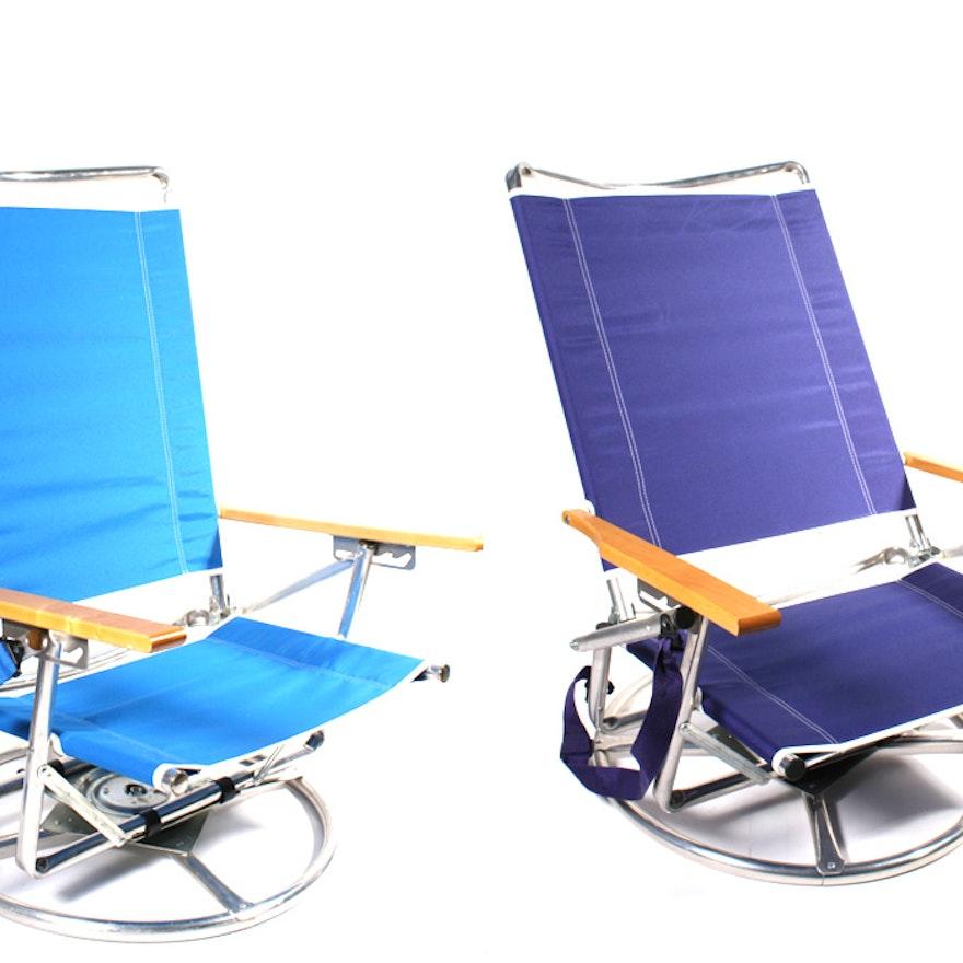The Suntracking Beach Chair