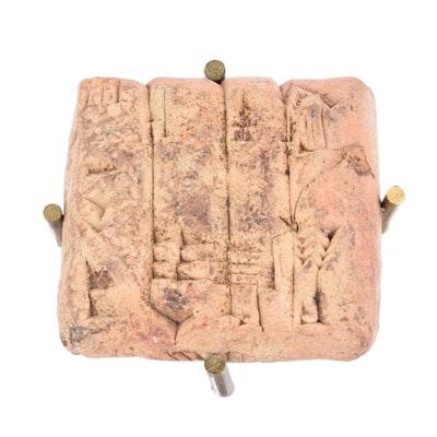 Ancient Sumerian Cuneiform Tablet