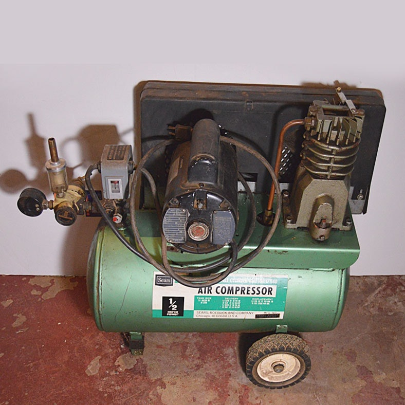 Sears 1 2 Hp Air Compressor Ebth