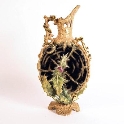 Antique Austrian Amphora Vase
