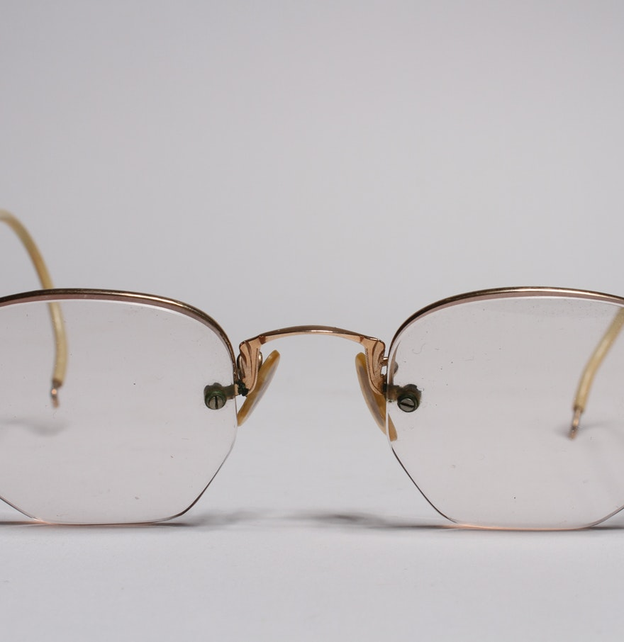 Eyeglasses with Gold Filled Frames : EBTH