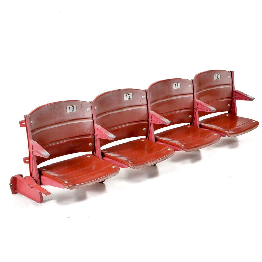 Four Attached Riverfront Stadium Cinergy Field Stadium