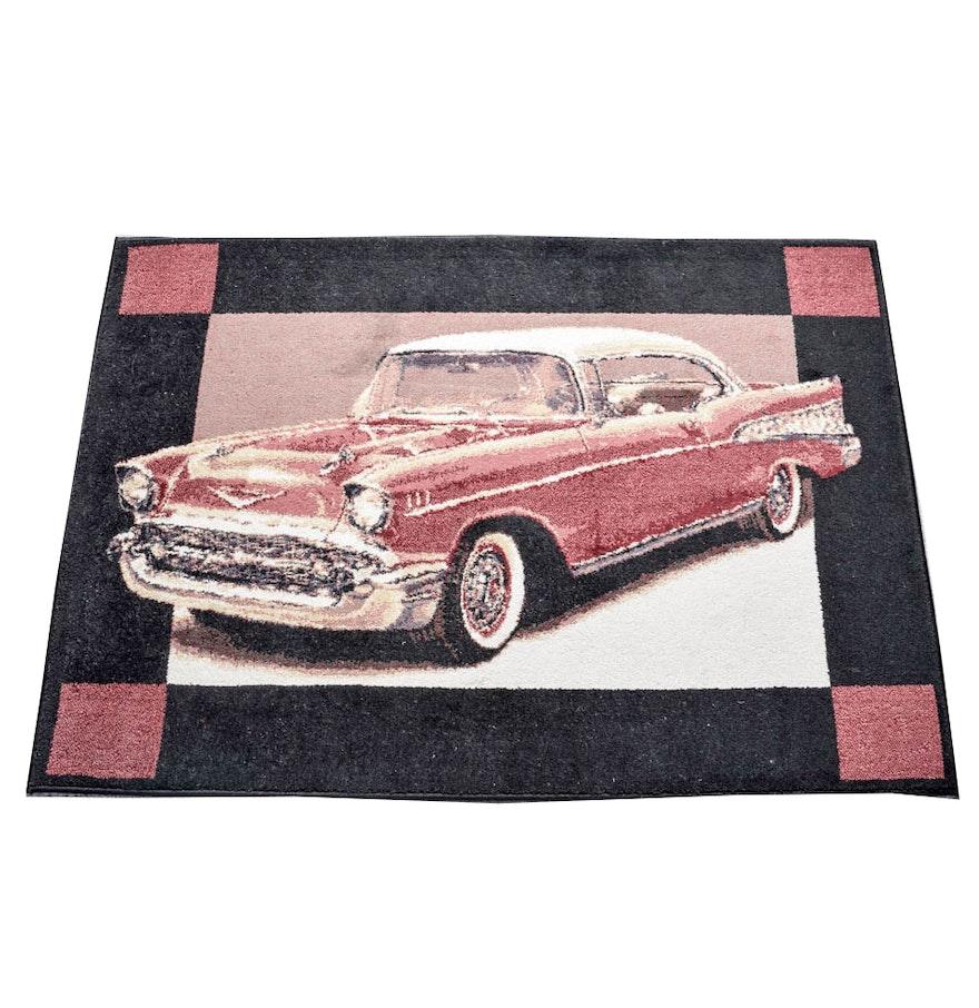 Classic Car Area Rug : EBTH