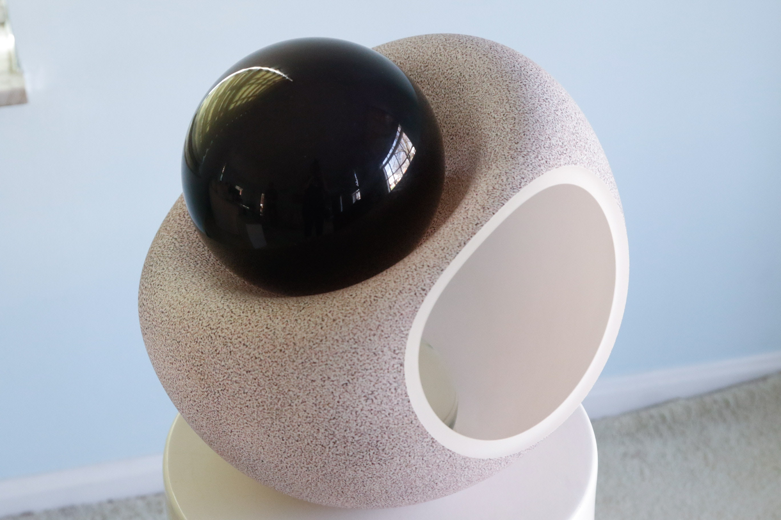 Curtis Auto Sales >> Curtiss Brock Blown Glass Sculpture, Untitled : EBTH