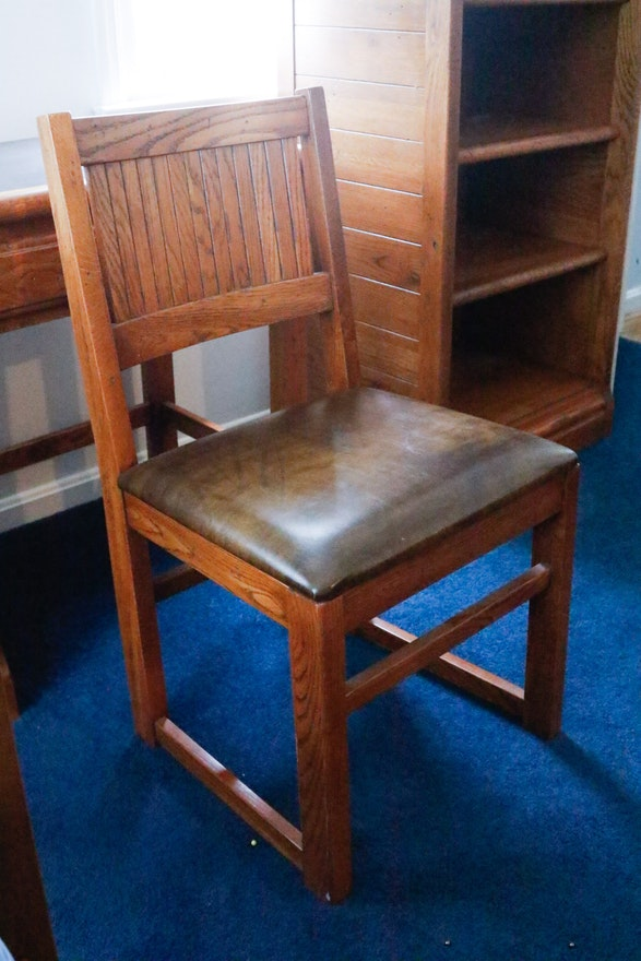 Young Hinkle Outrigger Desk And Chair Ebth