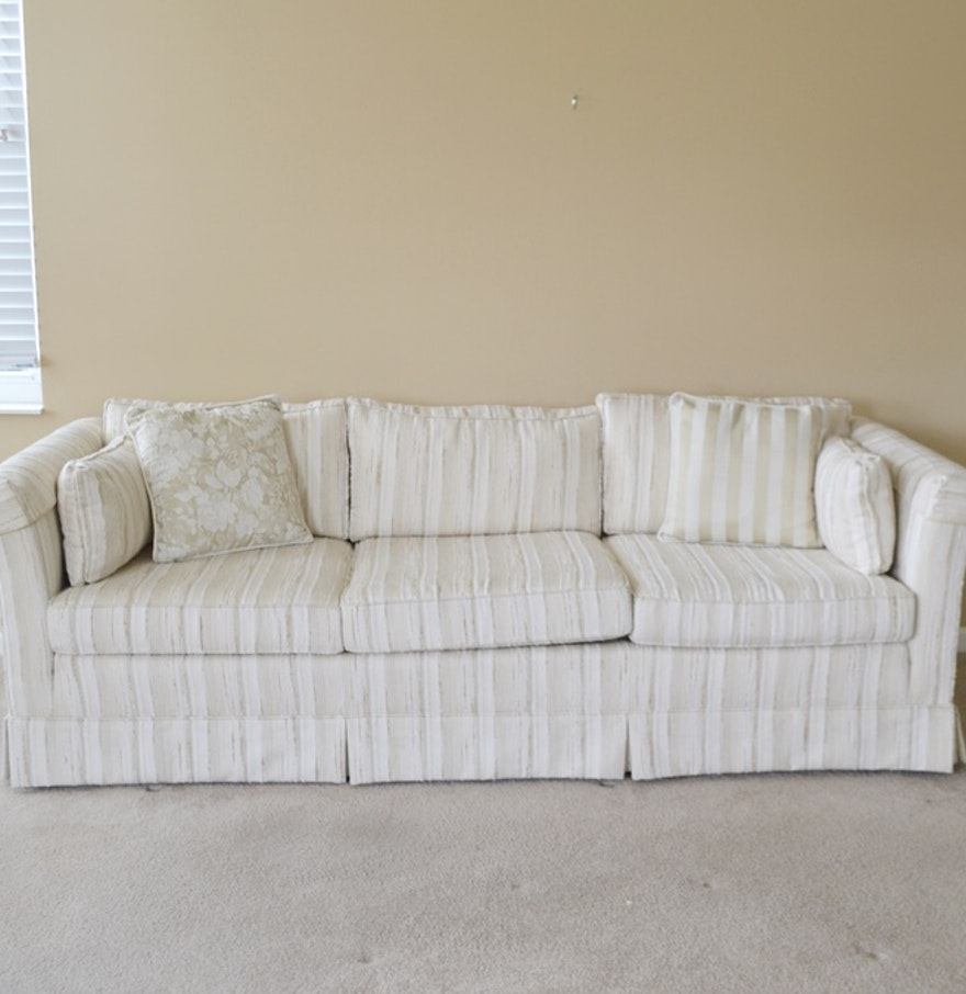 Upholstered Sofa By Hickory Fry