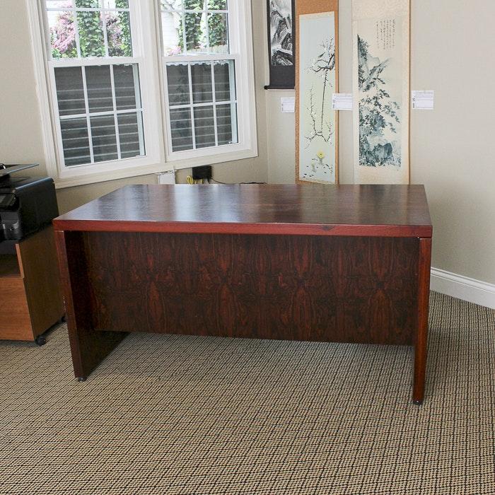 Mahogany Office Desk ...