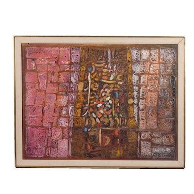 Paul Maxwell Original Mixed Media Painting