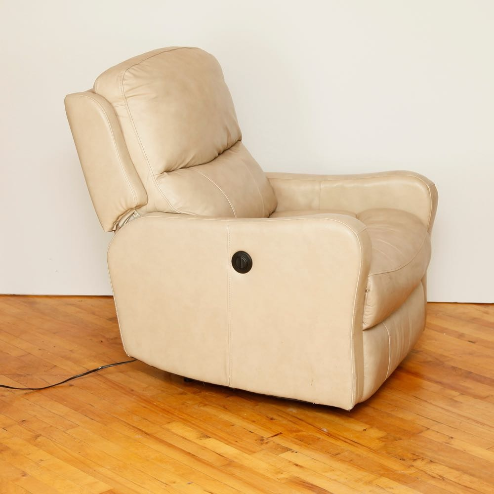 man wah electric leather recliner