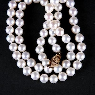 Ben Bridge Genuine Pearl Necklace