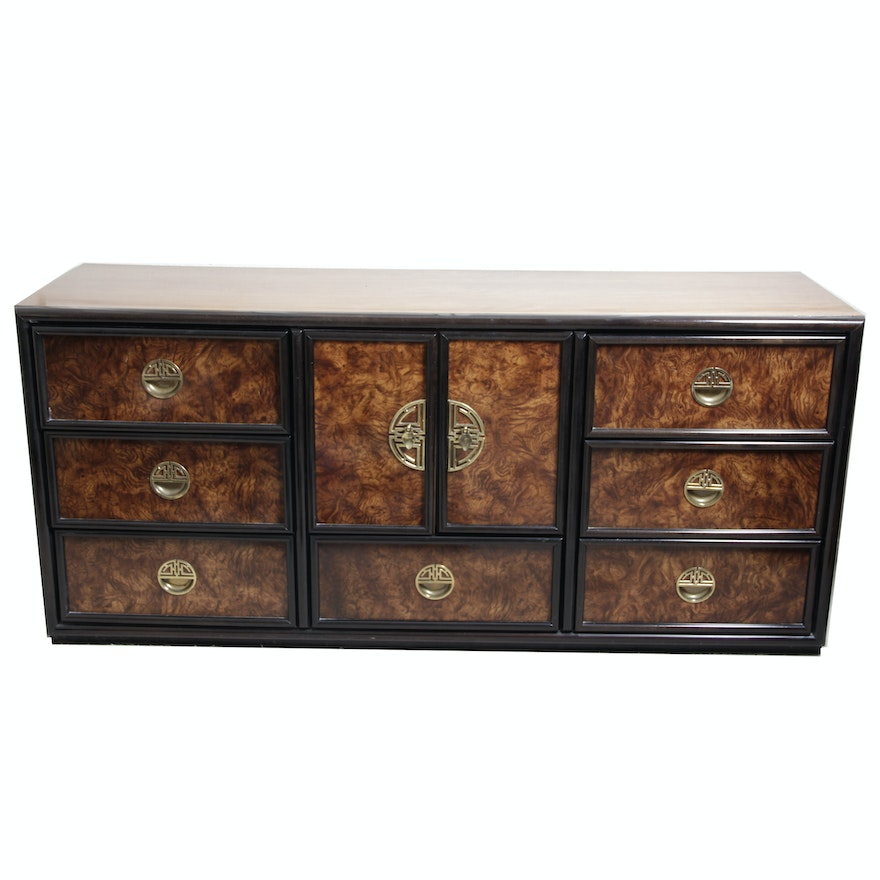Lexington furniture asian inspired regency style credenza ebth for Asian inspired bedroom furniture