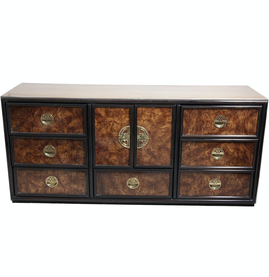 Lexington Furniture Asian Inspired Regency Style Credenza Ebth