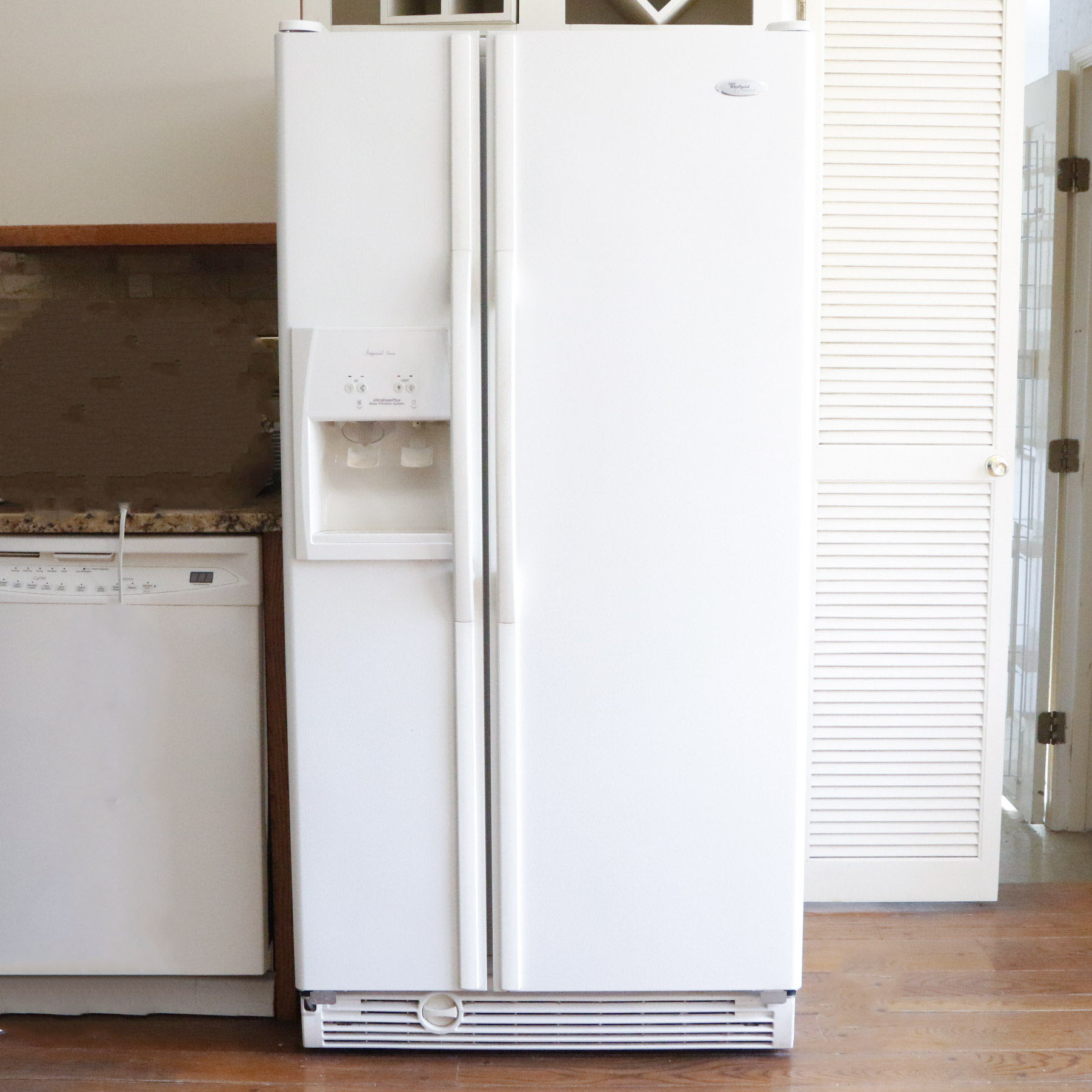 whirlpool gold series refrigerator. whirlpool gold imperial series side-by-side refrigerator