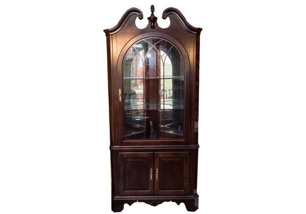 Mirrored Corner Cabinet By Jasper Cabinet Company ...