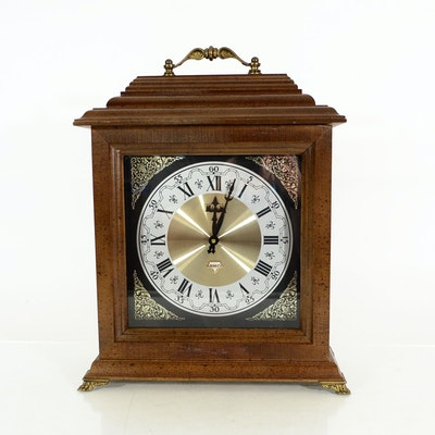 bulova westminster chime clock instructions