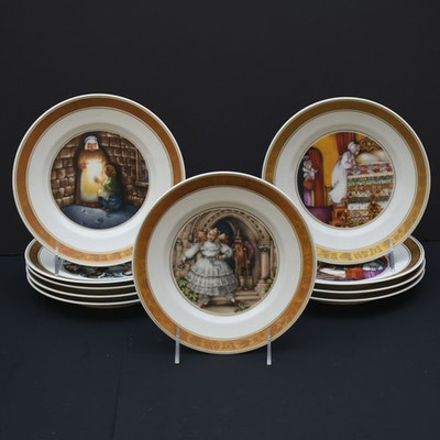 Hans Christian Andersen Collector Plates From Royal Copenhagen
