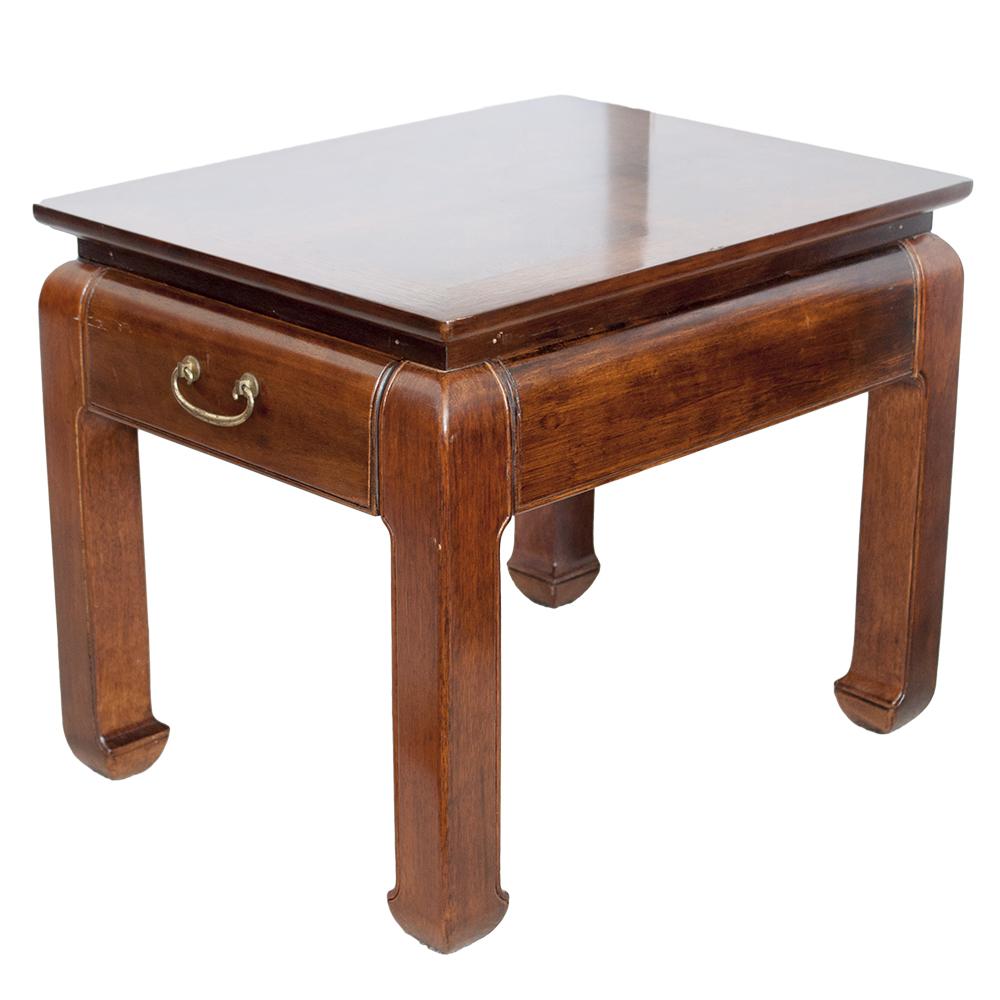 Vintage Bernhardt Asian Ming Style End Table EBTH