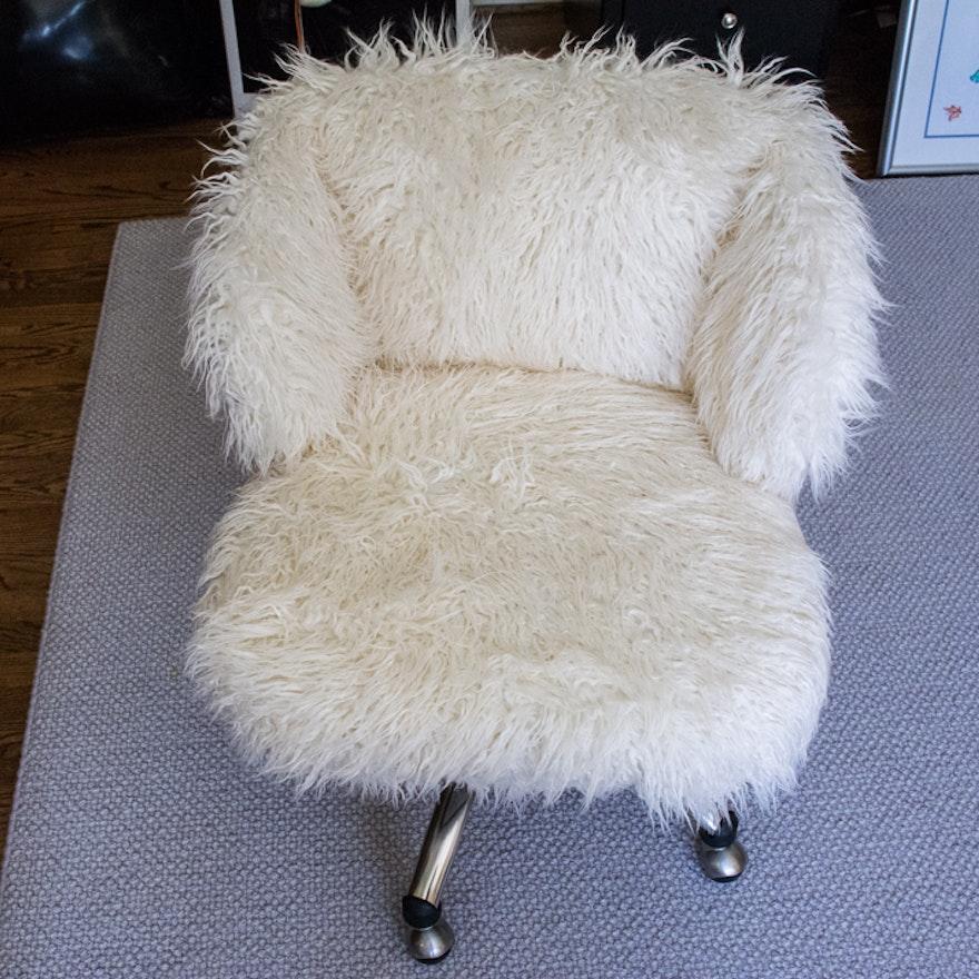 Excellent Pottery Barn Teen Furlicious Wingback Desk Chair Machost Co Dining Chair Design Ideas Machostcouk