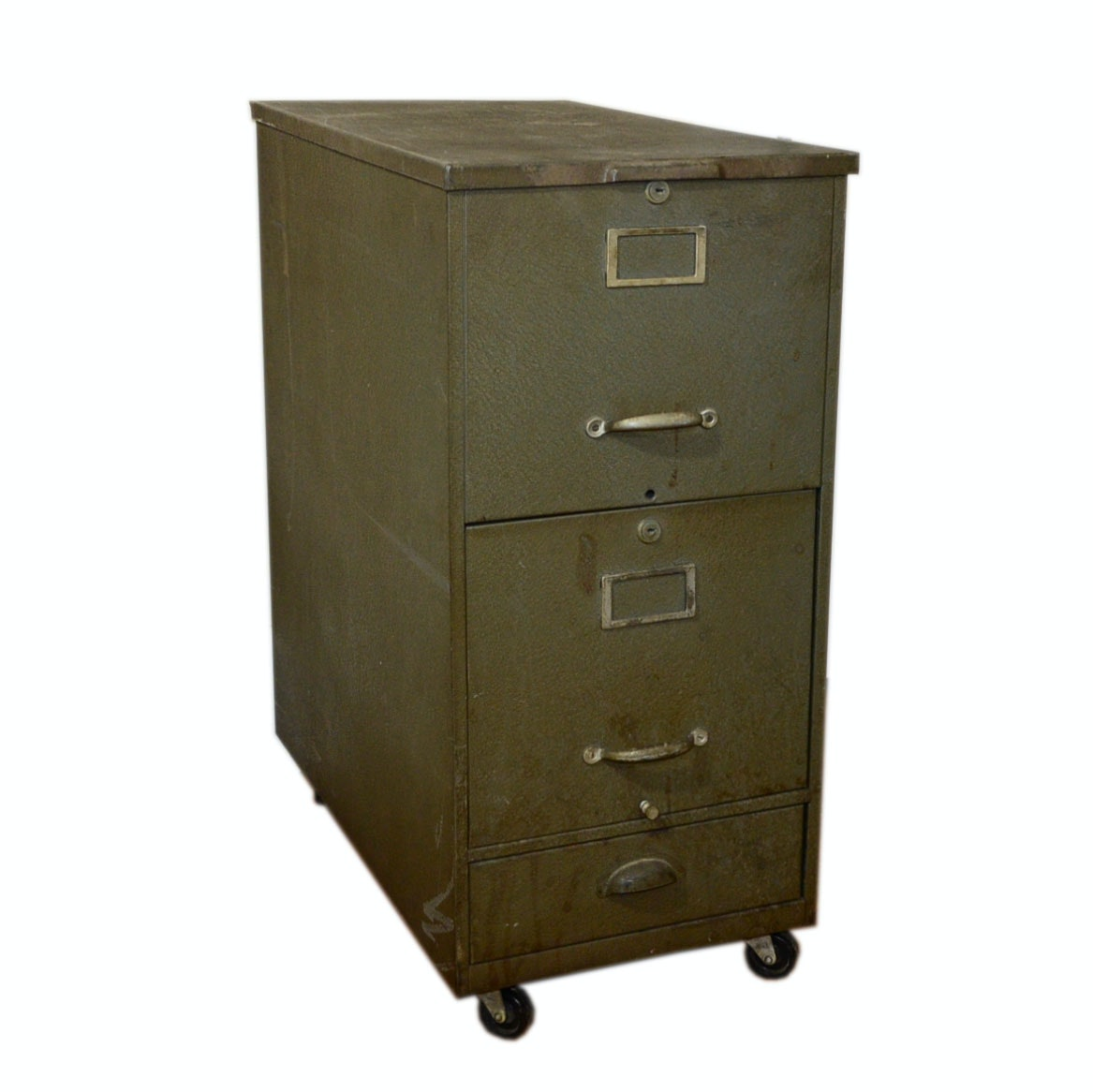 3 drawer metal file cabinet vintage cole steel three drawer filing cabinet ebth 10167
