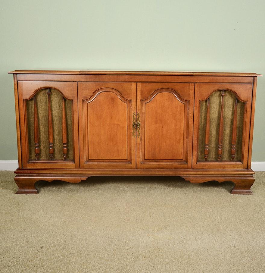 Design Record Player Cabinet sears silvertone stereo cabinet record player ebth player