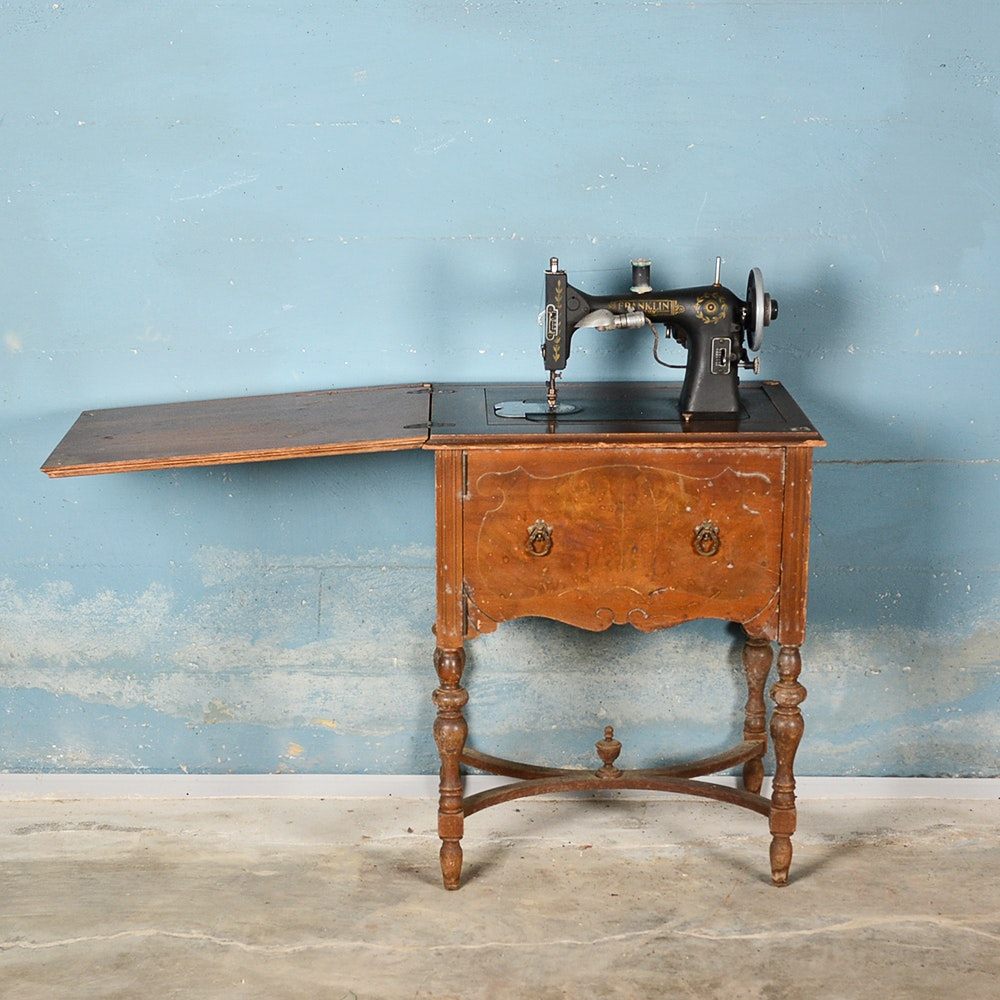 antique sears sewing machine