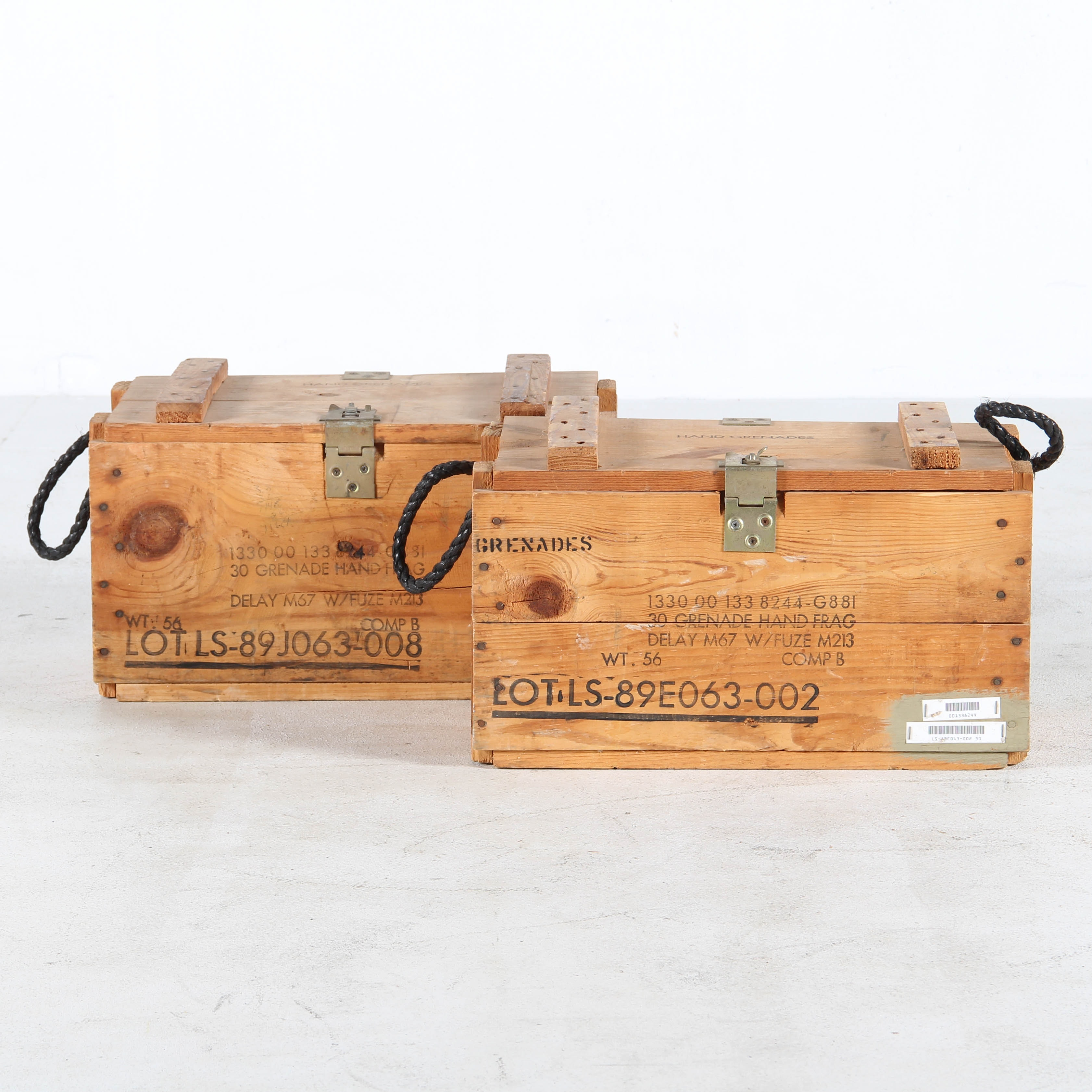 Ten Crates Of Grenades Pictures To Pin On Pinterest