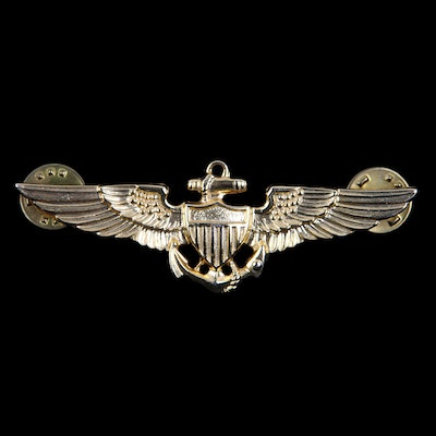 Colonel Ed McMahon's Naval Aviator Insignia and Wings