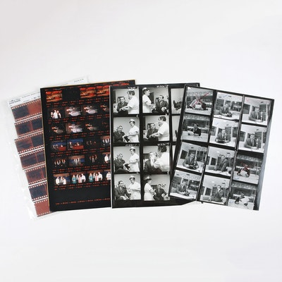 Grouping of NBC Contact Sheets and Negatives Featuring Ed McMahon and Jay Leno