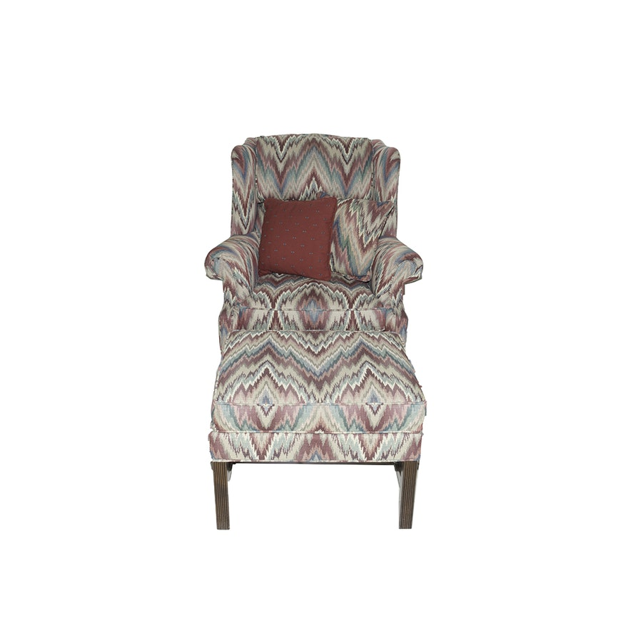 Awesome Clayton Marcus Chair And Ottoman Ocoug Best Dining Table And Chair Ideas Images Ocougorg