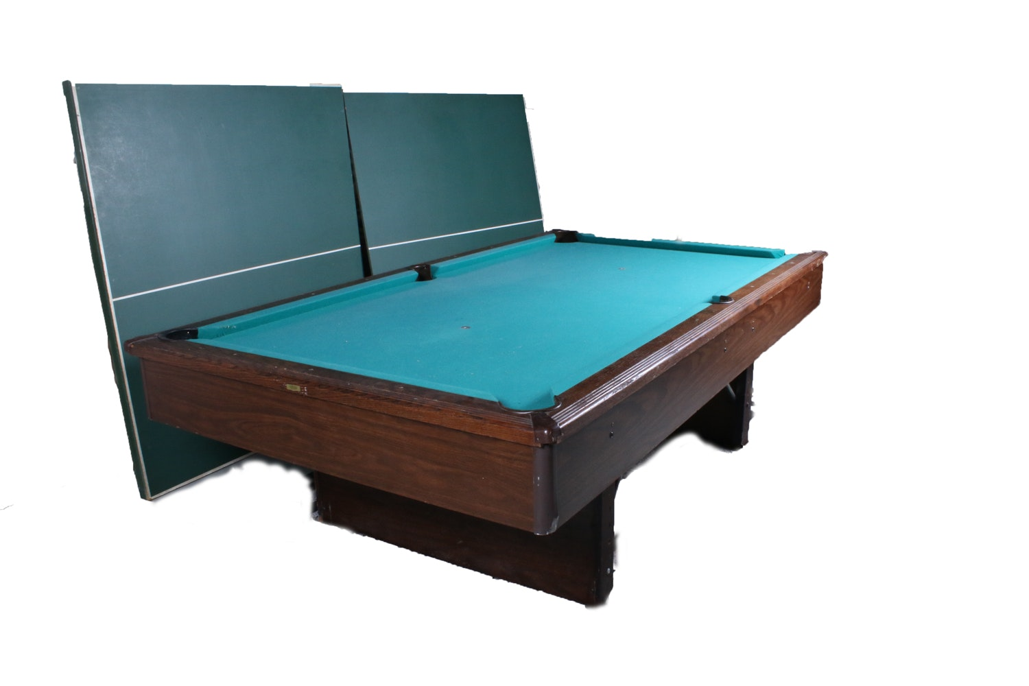 Sportcraft Billiard Table Combination Billiards and Ping Pong Table with Accessories : EBTH