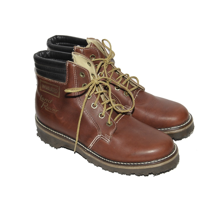 womens small up ankle winter items landrover boots leather brown il rover size on to au grunge land hiking similar lace listing