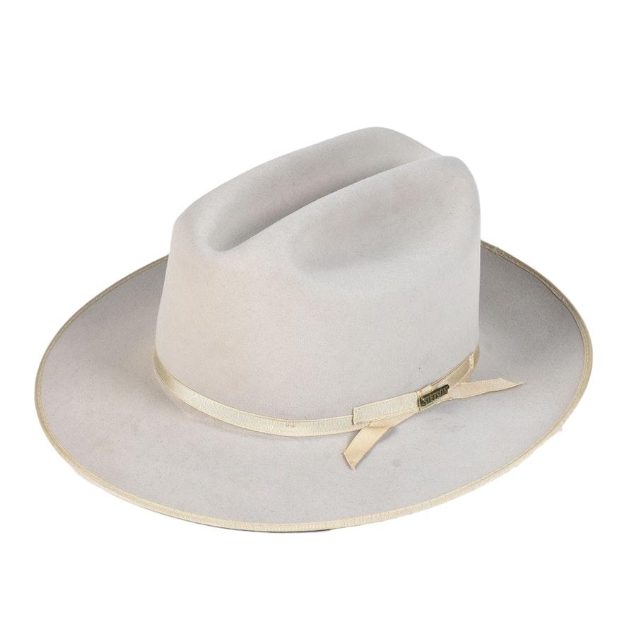 Stetson 4X Beaver Felt Cowboy Hat   EBTH aaba959dcf0