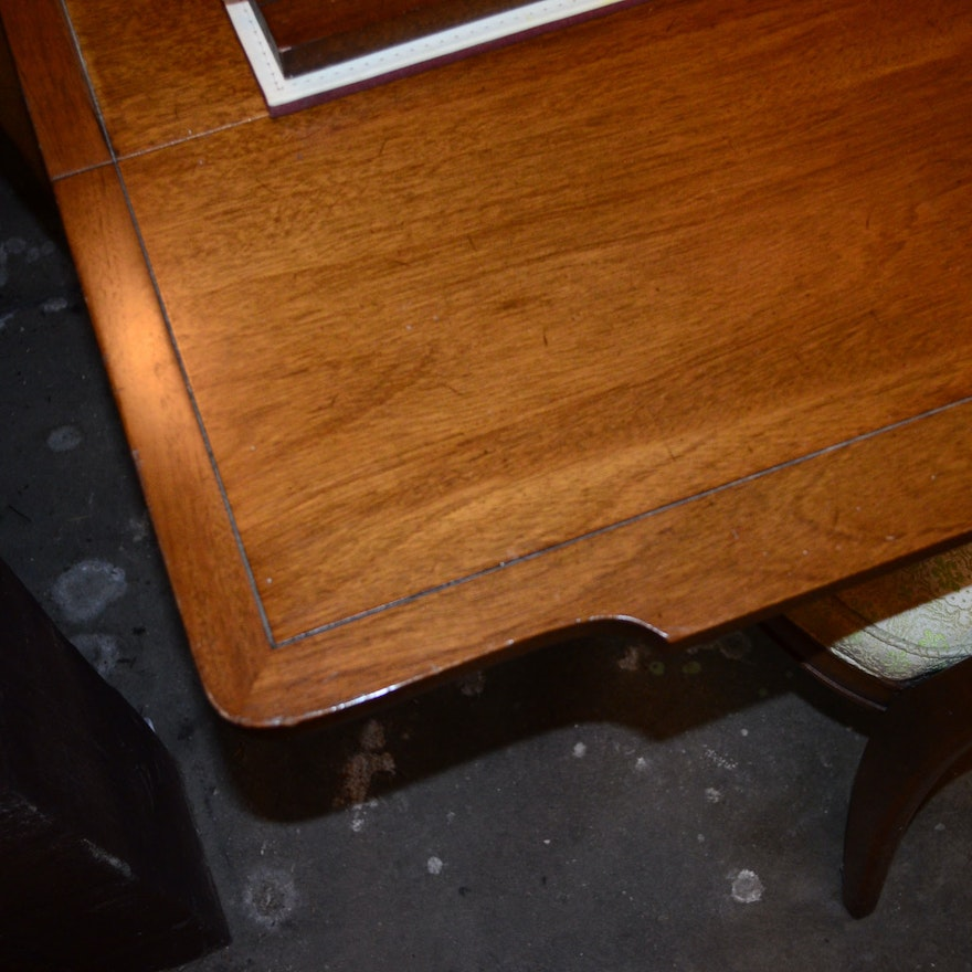 Mid Century Dining Room Chair Maple Finish