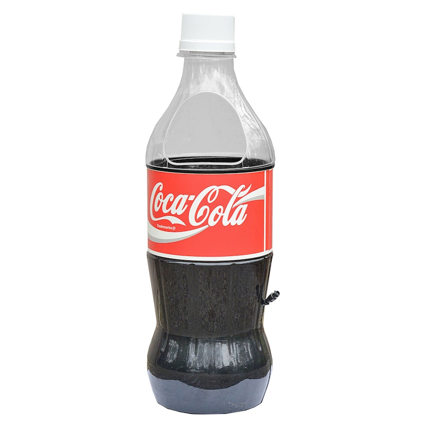 Large Coca-Cola Bottle Cooler Display | EBTH