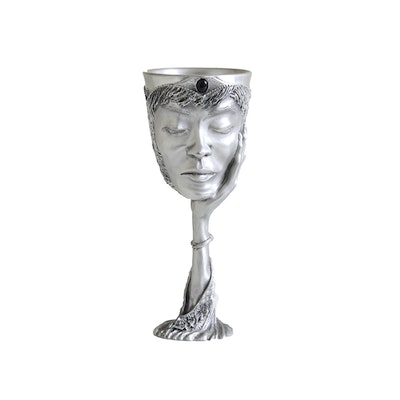 """""""Lord of the Rings"""" Galadriel Pewter Chalice"""