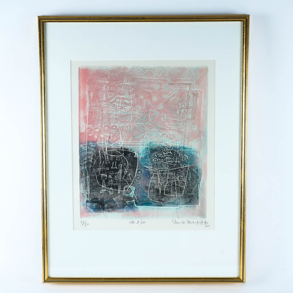 Shoichi Hasegawa Limited Edition Color Etching