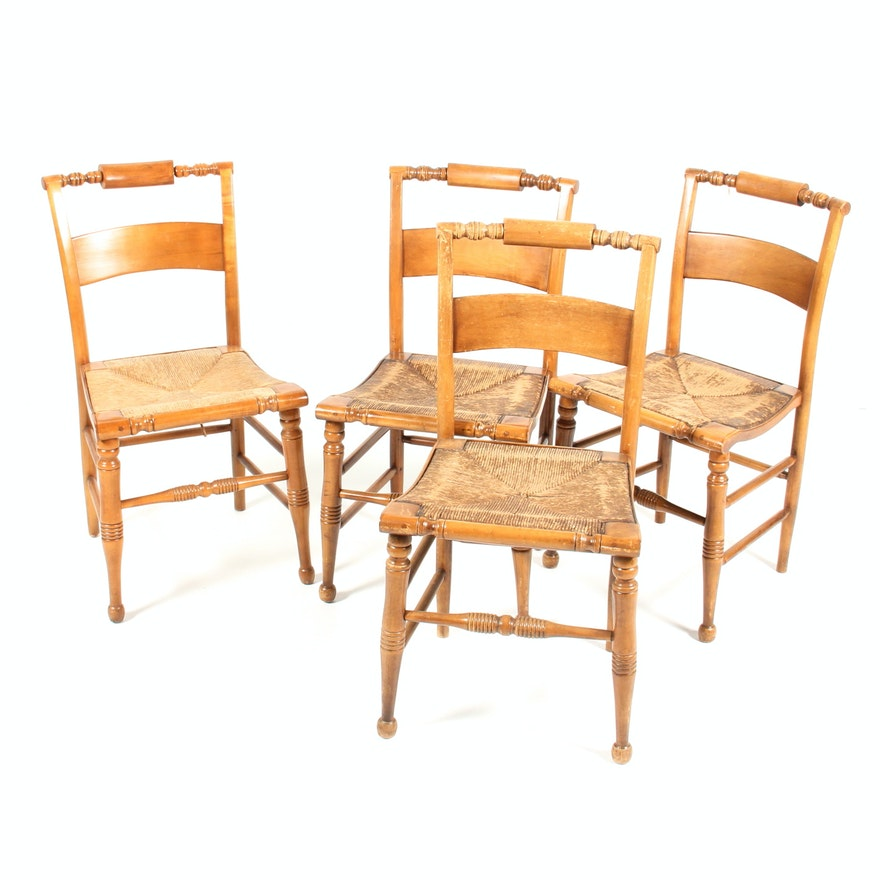 Set Of Four Vintage High Point Bending Amp Chair Co Chairs