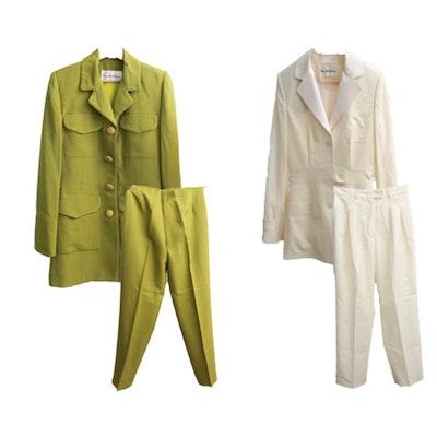 Pair of Pam McMahon Designer Suits