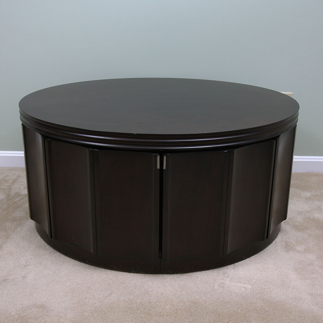 round coffee table with storage storage coffee table ebth 31438
