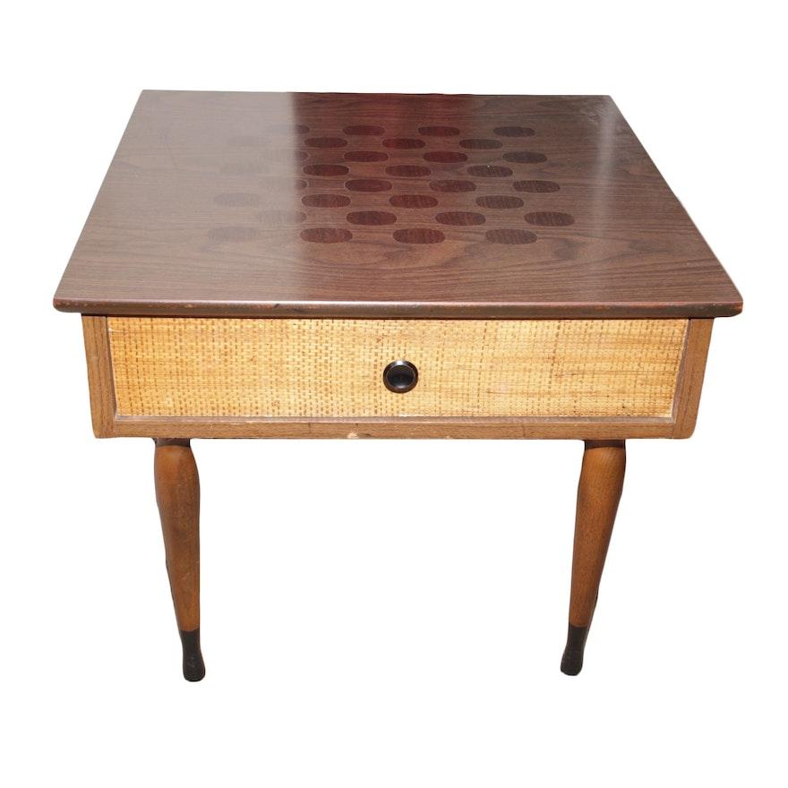 Vintage Kroehler Mid Century End Table ... - Vintage Kroehler Mid Century End Table : EBTH
