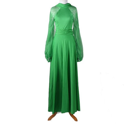 Vintage Lillie Rubin Gown Tanya Wore at The Grammy's in 1979