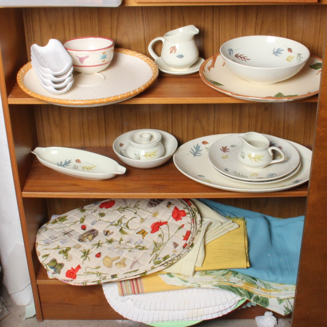 Vintage Franciscan Autumn Leaves Dishes and More ... & Vintage Franciscan Autumn Leaves Dishes and More : EBTH