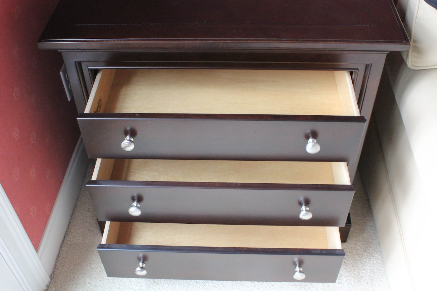 Stanley Furniture 39 American Modern 39 Bachelors Chest Ebth