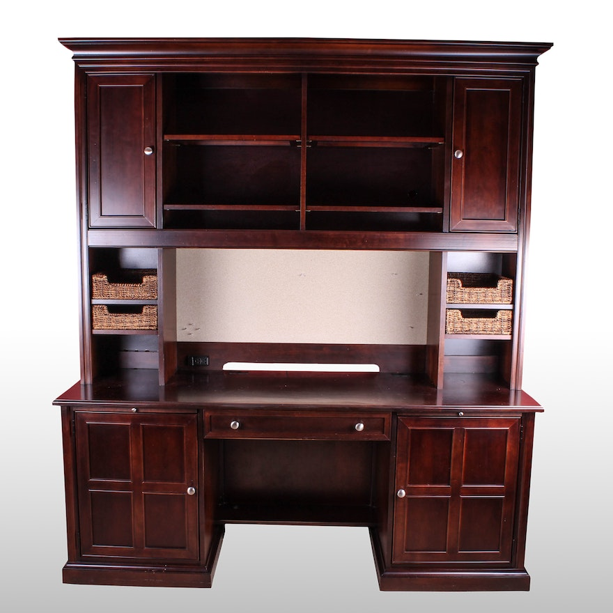 Stanley Furniture Office Desk With Hutch Ebth