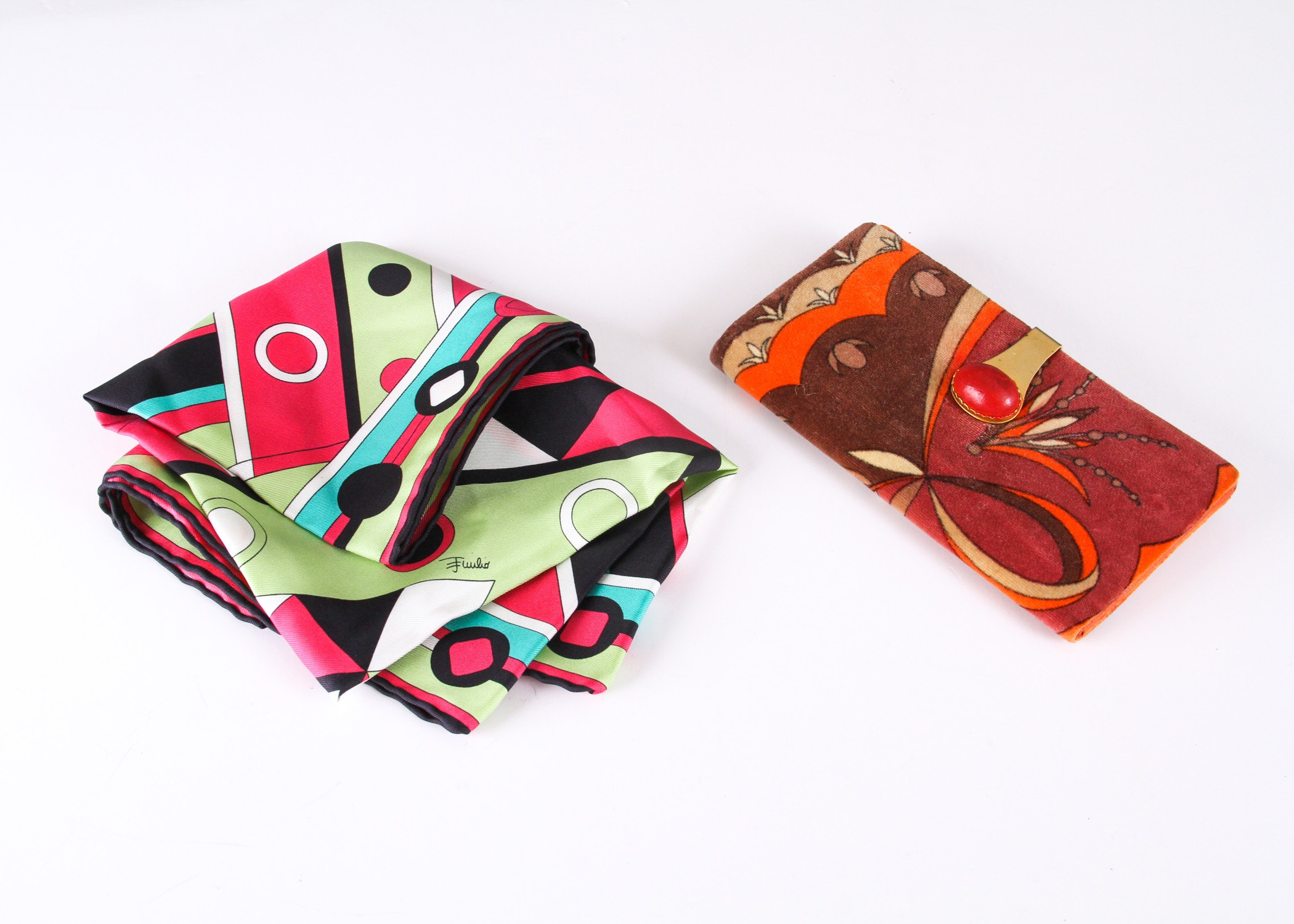 Emilio Pucci Scarf and Wallet Accessories
