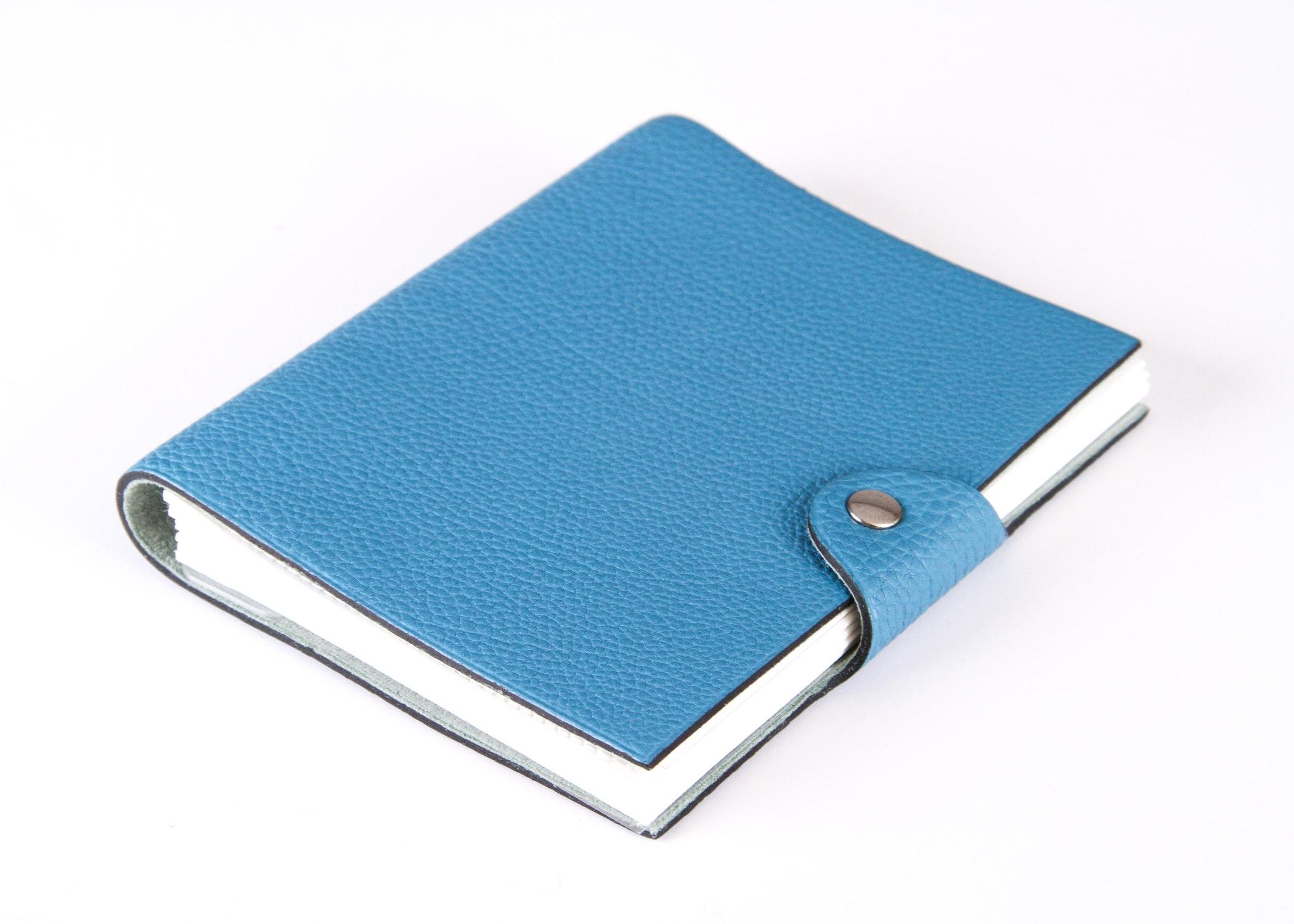 Hermès Blue Jean Togo Leather Photo Album