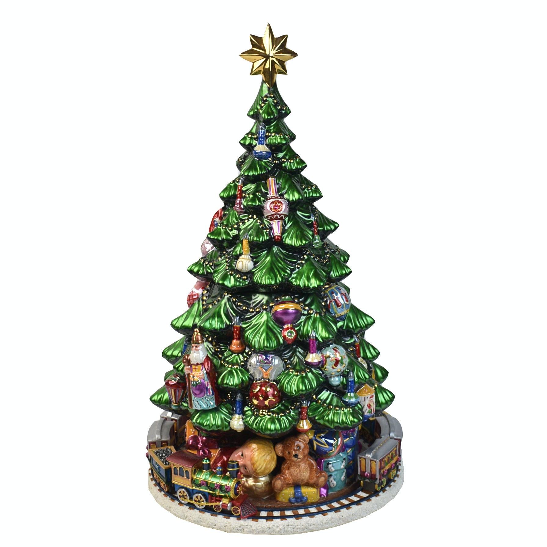 Slim Fibre Optic Christmas Tree