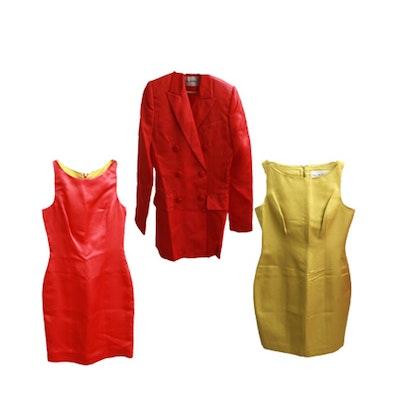 Pam McMahon Designer Sheath Dresses and Blazer