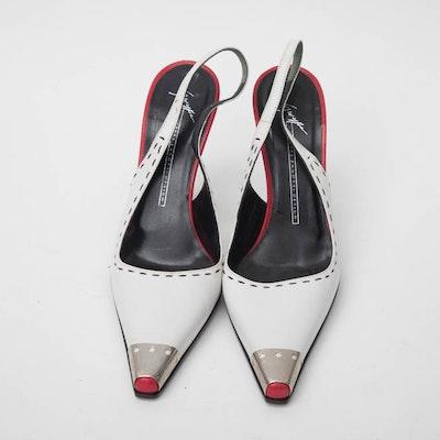 Giuseppe Zanotti Sling Back Heels